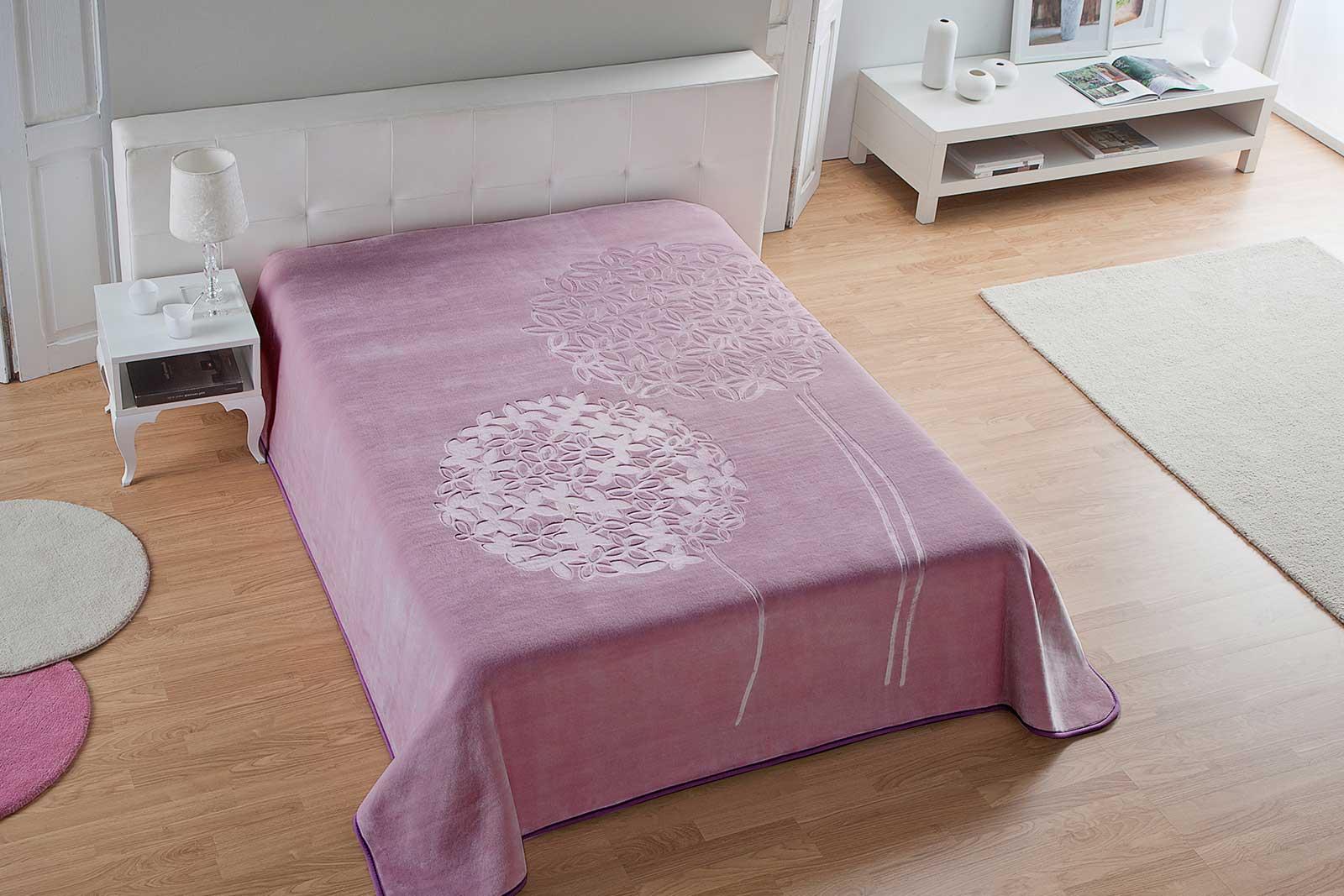 Baby Pink Color Blanket