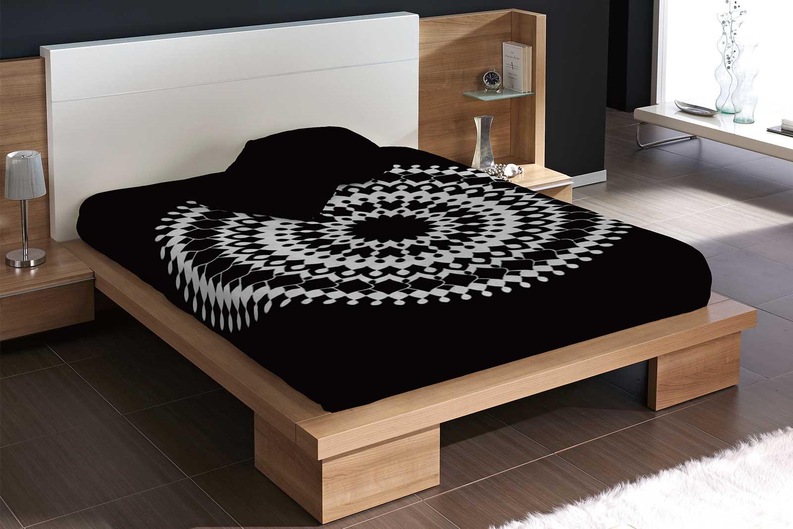 Black Color Blanket